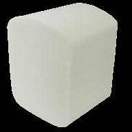 /Бумага туалетная листовая целюлоз., 2-х сл., 150шт. белый