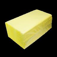 $/Полотенца целлюлозные V-образные.,160шт., 2х сл., желтый