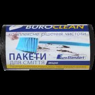/Пакеты для мусора 35л/30шт, прочные, черные BuroClean EuroStandart