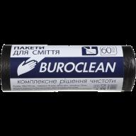 /Пакеты для мусора 60л/20шт, черные BuroClean ECO