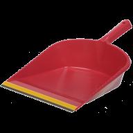 /Совок для мусора с резиновой накладкой, цвет ассорти