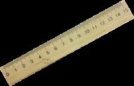 /Линейка деревянная 15 см (шелкография)