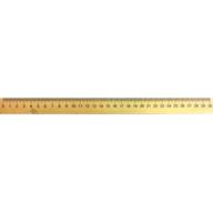/Линейка деревянная 30 см (шелкография)