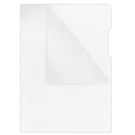 Папка-уголок А4, 180мкм, прозрачный