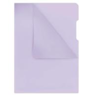 Папка-уголок А4, 180мкм, фиолетовый