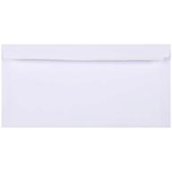 /Конверт DL (110х220мм) белый СКЛ с вн. печатью