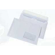 /Конверт DL (110х220мм) белый СКЛ с окном 45х90мм