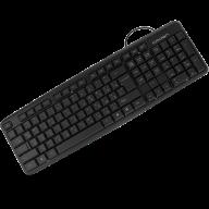 /Клавиатура проводная CROWN CMK-02 usb Black