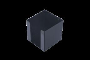 /Бокс для бумаги 90х90х90мм, JOBMAX, черный