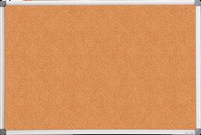 $Доска пробковая, 60x90см, алюминиевая рамка