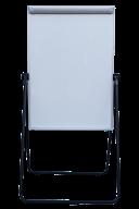 Флипчарт двухсторонний магнитный сухостираемый, 70х100см, алюминиевая рамка