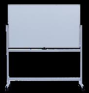 Флипчарт двухсторонний магнитный сухостираемый мобильный, 90 х 150см, алюминиевая рамка
