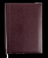 Ежедневник недатированный BASE(Miradur), A5, 288стр. бордовый