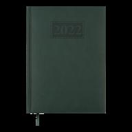 Ежедневник дат. 2019 GENTLE(Torino), A5, 336стр. зеленый