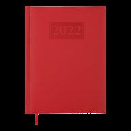 Ежедневник дат. 2019 GENTLE(Torino), A5, 336 стр. красный