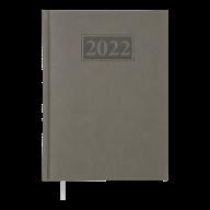 Ежедневник дат. 2019 GENTLE(Torino), A5, 336 стр. серый