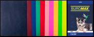 Набор цветной бумаги DARK+NEON, А4, 80 г/м², 10 цв., 50 л.