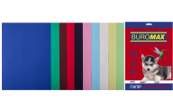 Набор цветной бумаги DARK+PASTEL, А4, 80 г/м², 10 цв., 20 л.