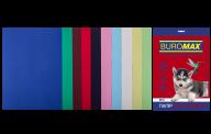 Набор цветной бумаги DARK+PASTEL, А4, 80 г/м², 10 цв., 50 л.