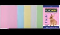 Набор цветной бумаги PASTEL, А4, 80 г/м², 5 цв., 20 л.