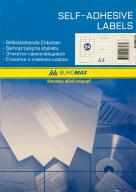 ^$Этикетки самоклеящиеся 24 шт., 70х37,1мм (100 листов) для струйных принтеров