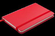 @Блокнот деловой STRONG, LOGO2U, 95x140 мм, 80 л., клетка, обложка из искусственной кожи, красный