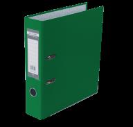 $Регистратор LUX одн. А4/70мм PP, зеленый, JOBMAX