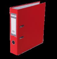 $Регистратор LUX одн. А4/70мм PP, красный, JOBMAX