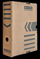 $/Бокс для архивации документов 80мм, JOBMAX, крафт
