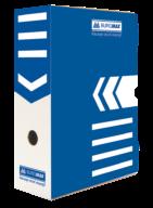 $/Бокс для архивации документов 100мм, синий