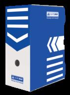 $/Бокс для архивации документов 150мм, синий