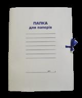 ^$/Папка на завязках А4, картон 0,41мм, цельнокройная