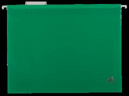$Подвесной файл А4, пластиковый, зеленый