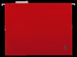 $Подвесной файл А4, пластиковый, красный