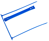 Сшиватель архивируемых документов, синий