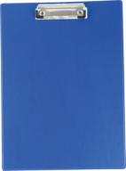 #^$Клипборд А4, PVC, т.-синий