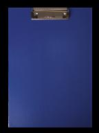 ^$Клипборд А4, PVC, т.-синий