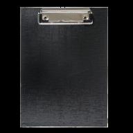 Клипборд А5, PVC, черный