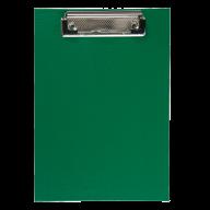 #@Клипборд А5, PVC, зеленый