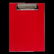 #$Клипборд А5, PVC, красный