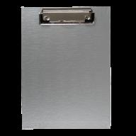 #$Клипборд А5, PVC, серый