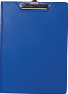 $Клипборд-папка А4, PVC, т.-синий