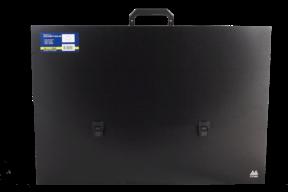 Портфель пласт A2/40мм, PROFESSIONAL, черный