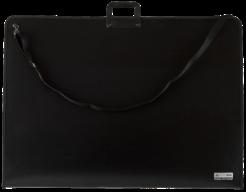 @Портфель пластиковый А1 (890x644мм), PROFESSIONAL, на на молнии, черный