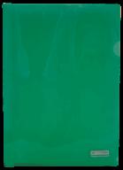 @$Папка-уголок А4, JOBMAX, зеленая