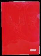 /Папка-уголок А4, JOBMAX, красная