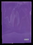 /Папка-уголок А4, JOBMAX, фиолетовая