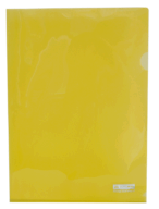 /Папка-уголок А4, JOBMAX, желтая