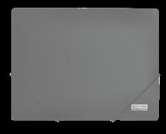 $Папка А4 на 2-х резинках, JOBMAX, серый