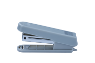 ^$Степлер пластиковый (плоский) JOBMAX, 10л.,(скобы №10), серый
